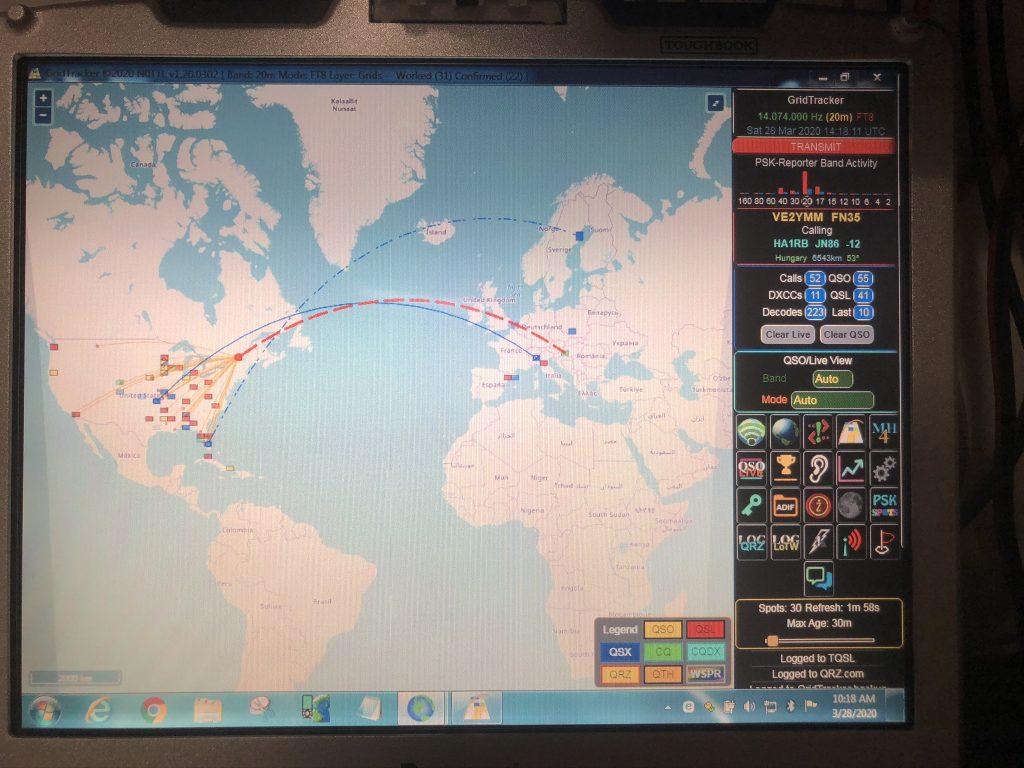 Grid Tracker (ve2ymm)